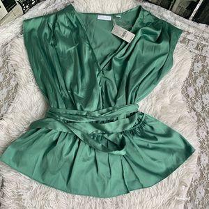 New York& Co. professional/career jade blouse